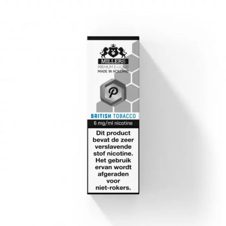 Millers Juice Platinumline British Tobacco E-liquid