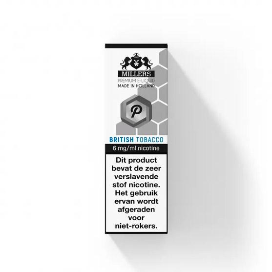 Millers Juice Platinumline British Tobacco E-liquid