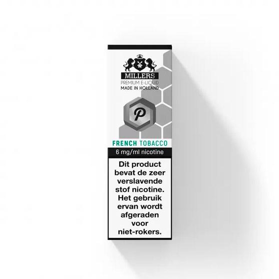 Millers Juice Platinumline French Tobacco E-liquid