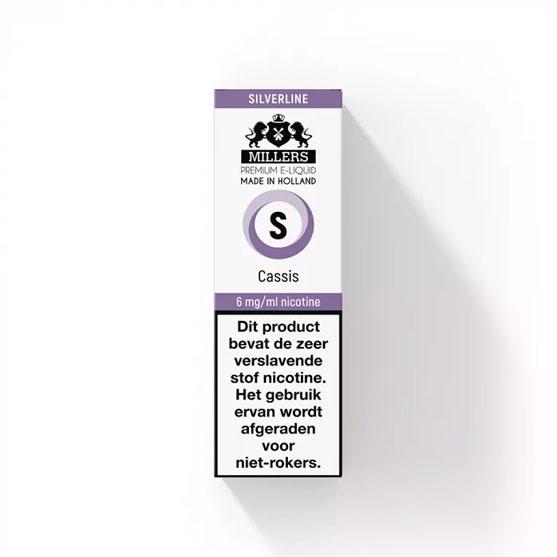 Millers Juice Silverline - Cassis E-liquid