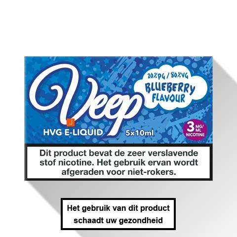 Veep Blueberry E-liquid 5 x 10ml