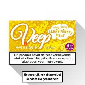 Veep Candy Fruity Mint E-liquid 5 x 10ml