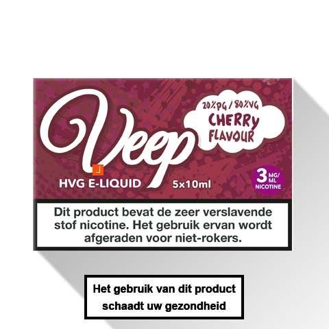 Veep Cherry E-liquid 5 x 10ml