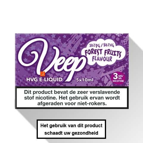 Veep Forest Fruits E-liquid 5 x 10ml