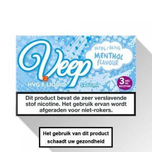 Veep Menthol E-liquid 5 x 10ml