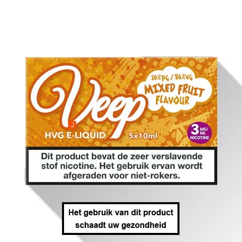 Veep Mixed Fruit E-liquid 5 x 10ml
