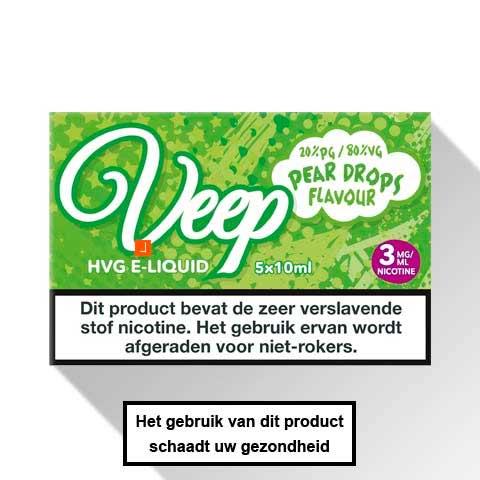 Veep Pear Drops E-liquid 5 x 10ml
