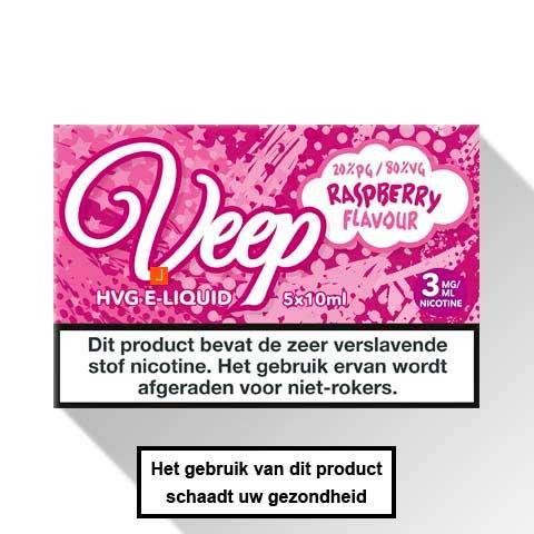 Veep Raspberry E-liquid 5 x 10ml