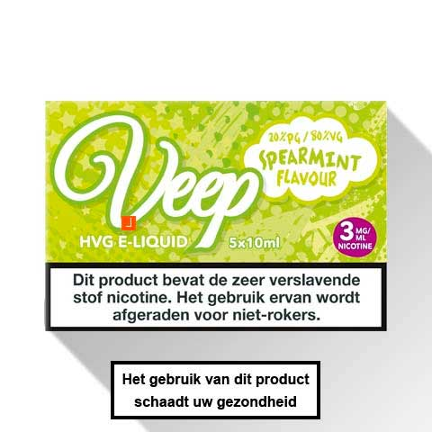 Veep Spearmint E-liquid 5 x 10ml