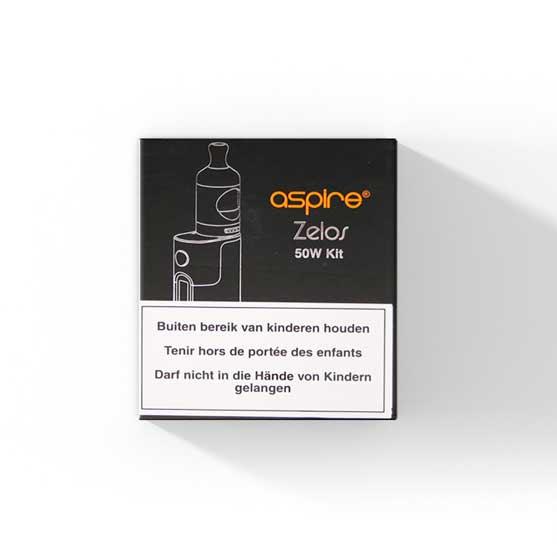Aspire Zelos + Nautilus 2 Clearomizer - 50W Startset