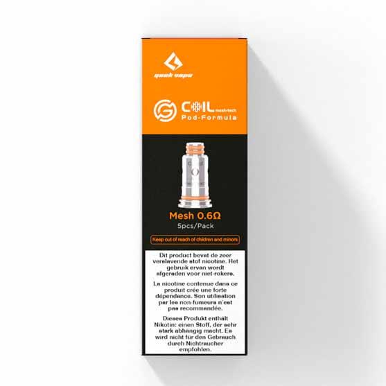 Geekvape Aegis pod - Wenax Stylus Coils