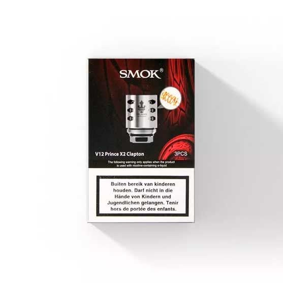 SMOK V12 X2 Clapton Coils