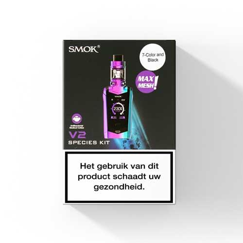 SMOK Species Startset met TFV Mini V2 Clearomizer.