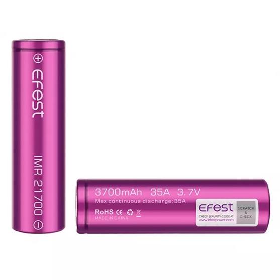 Efest 21700 Batterij 3700mAh