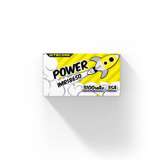 Nitecore 18650 Batterij 3100mAh 35A