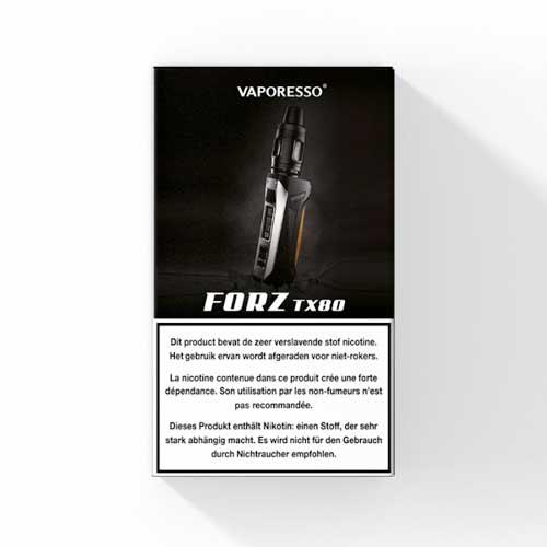 Vaporesso FORZ TX80 Startset