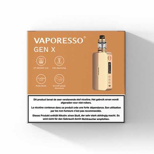 Vaporesso Gen X - 220W Startset
