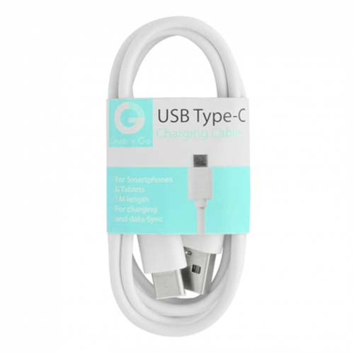 Grab n Go - USB C Data Kabel - 1M - Wit
