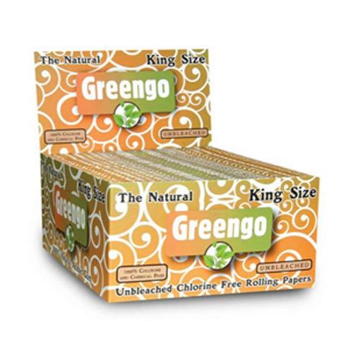 Greengo - Unbleached King Size Regular 33 vel